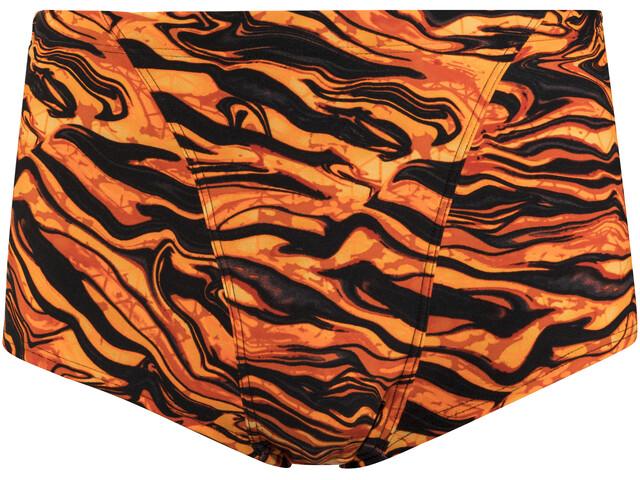 TYR Miramar Allover Trunk Men Black/Orange